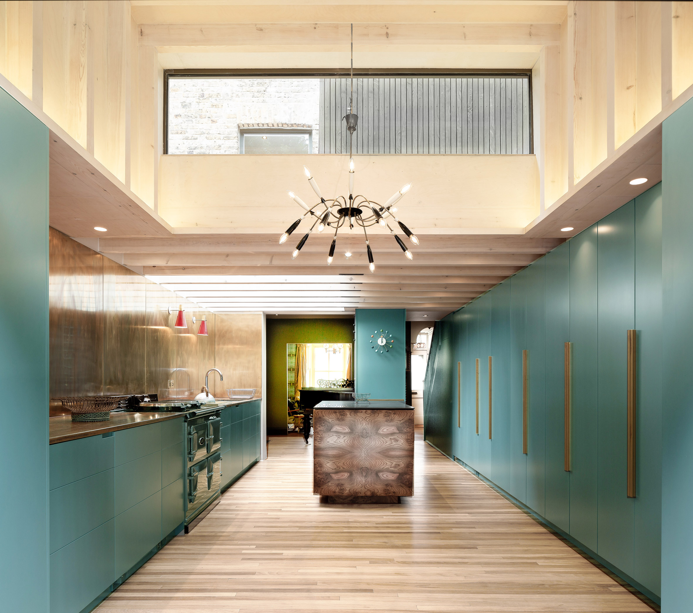 Kitchen in Jewellery Box extension to London home