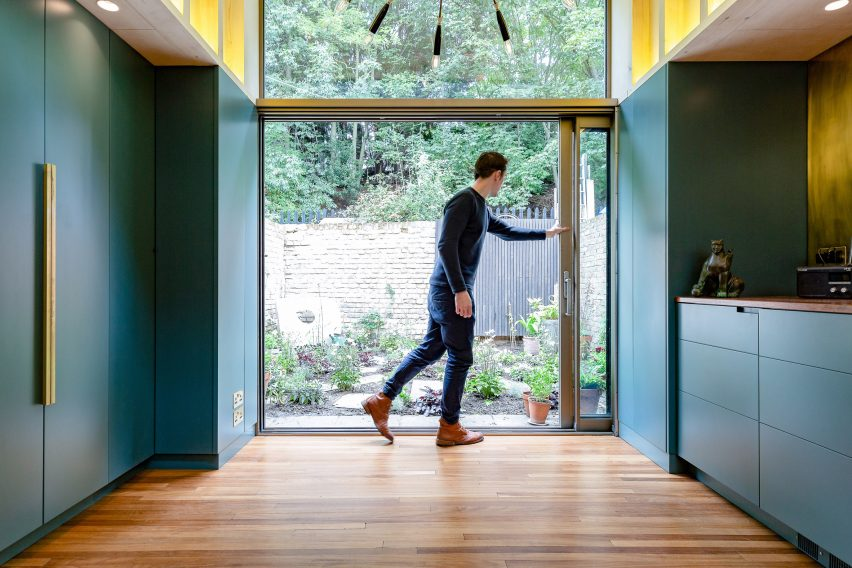 Kitchen in London extension