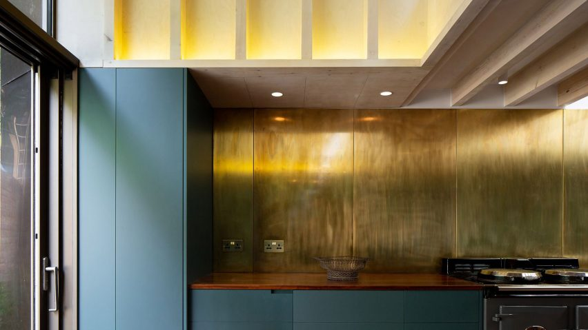 Jewellery Box extension to London home by Micheal Collins Architects
