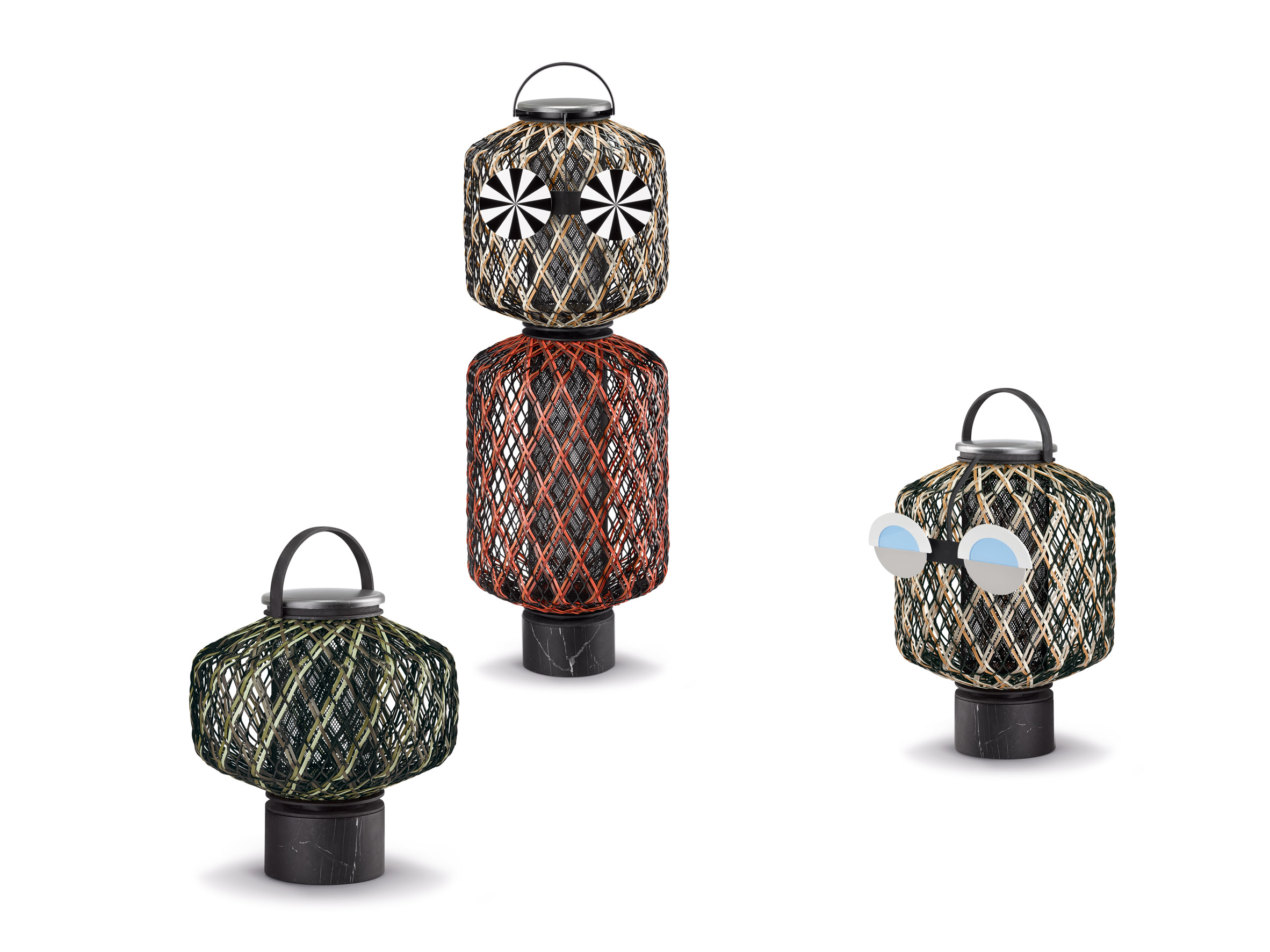 The Others lights by Stephen Burks for Dedon