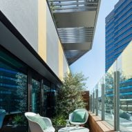 Toggle Hotel in Suidobashi, Tokyo, by Klein Dytham Architecture