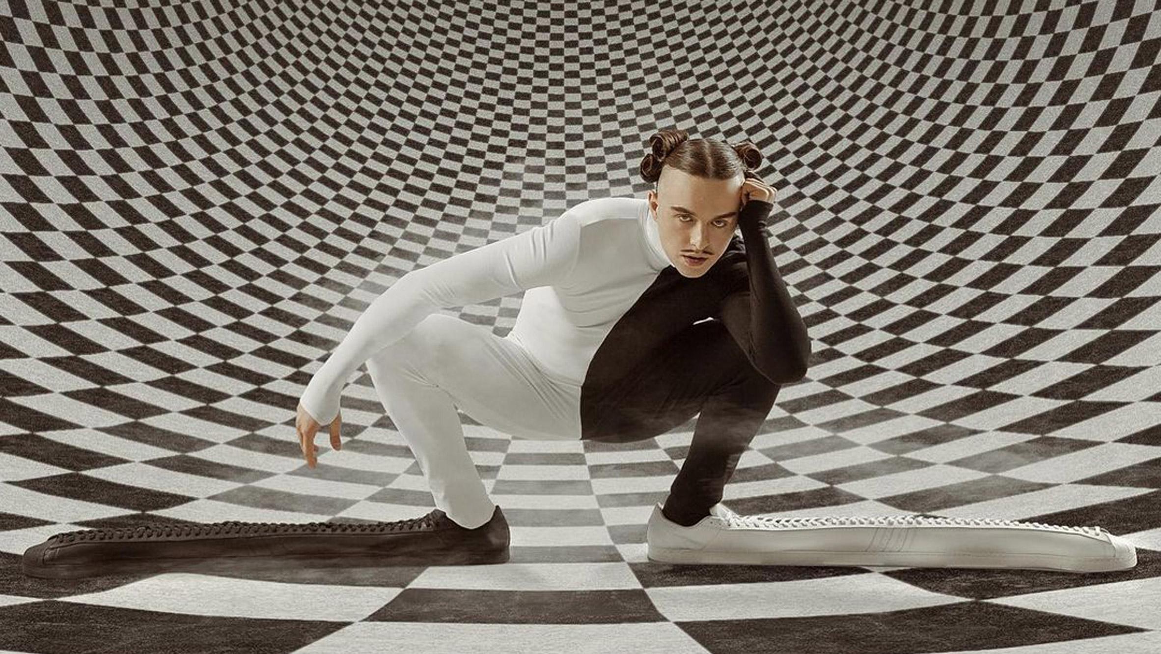 "Adidas creates ""longest shoe in the world"""