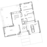 Ground floor plan of Tommy Rand house in Denmark