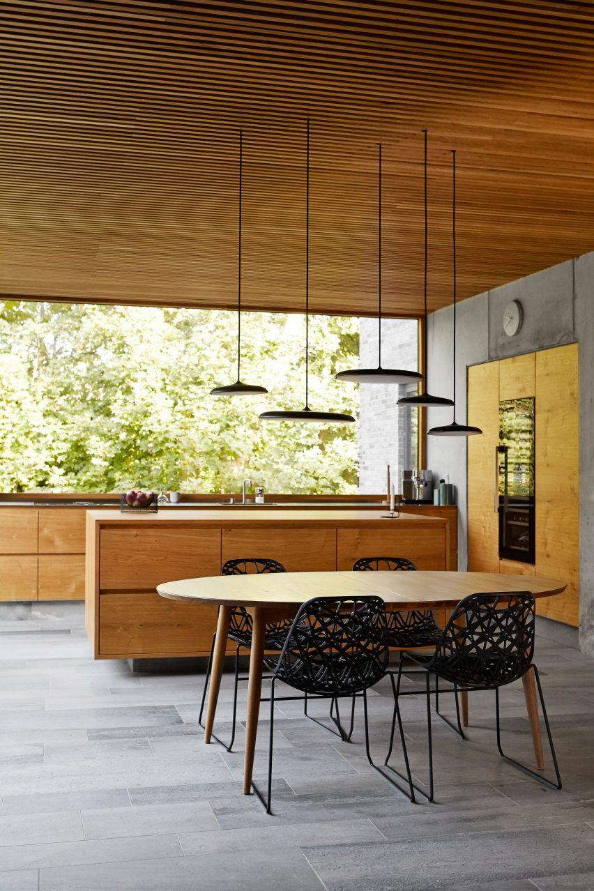 Kitchen in Tommy Rand house in Denmark