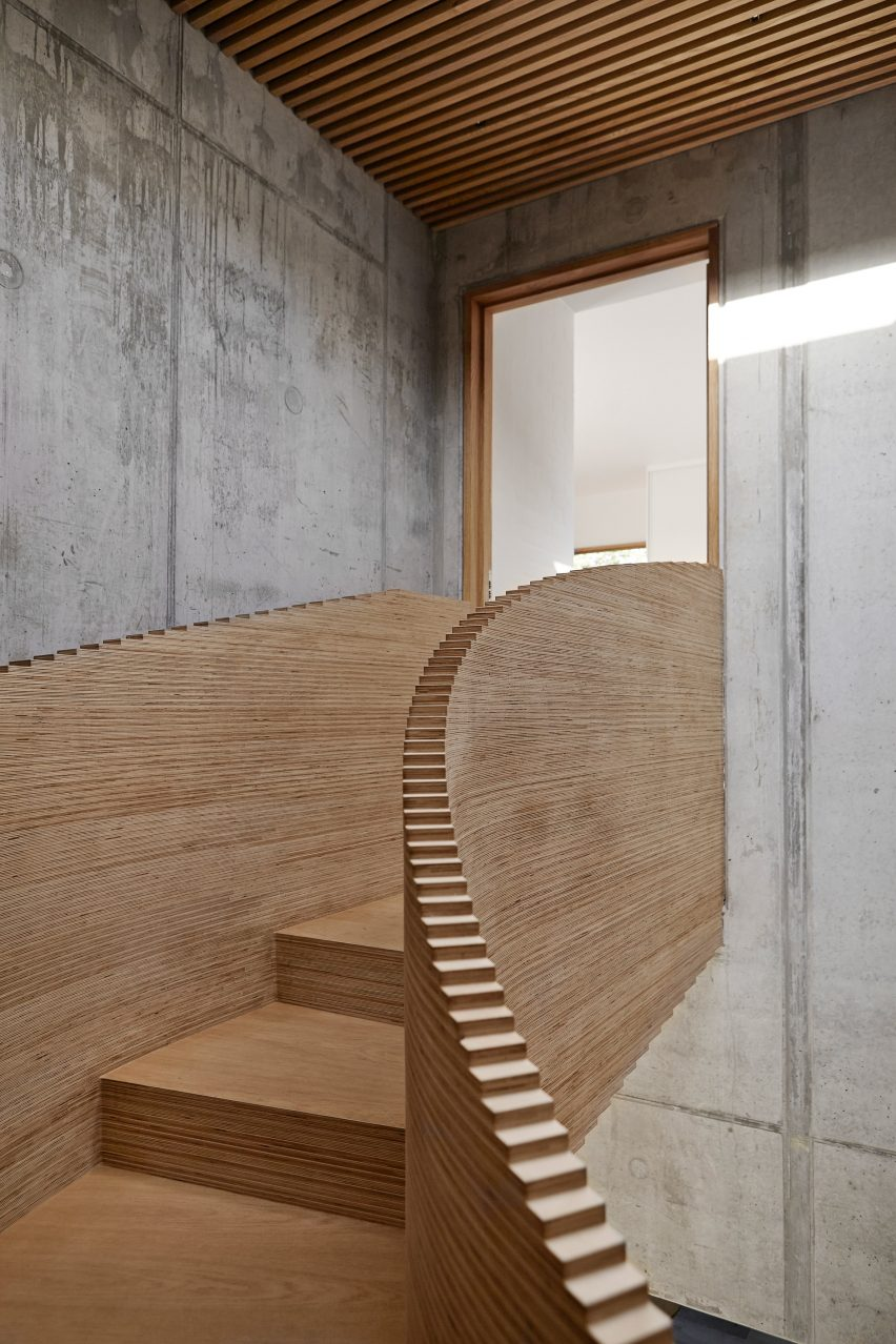 First floor in Tommy Rand house in Denmark