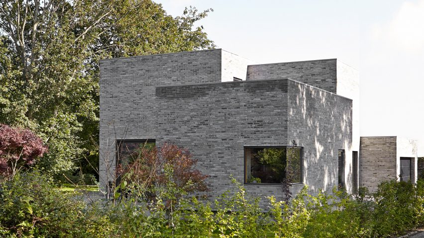 Exterior of Tommy Rand house in Denmark