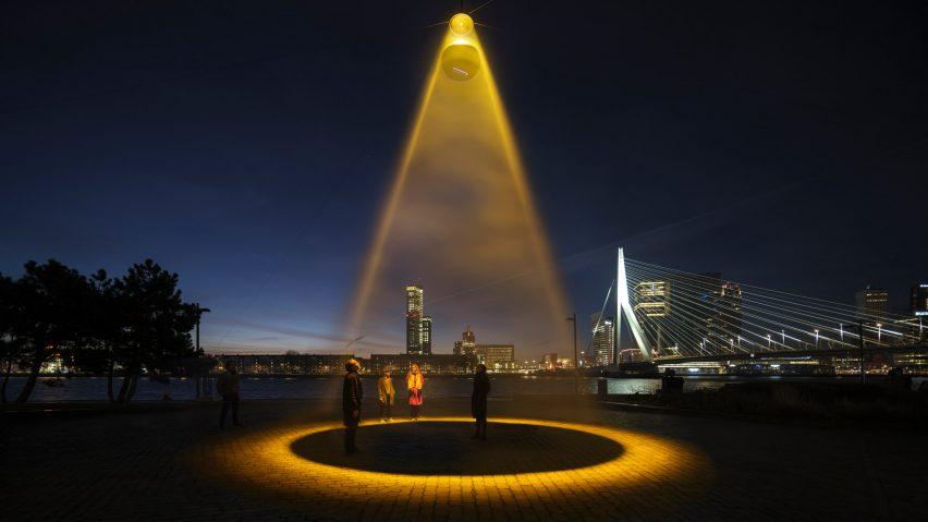 Urban Sun installation by Daan Roosegaarde