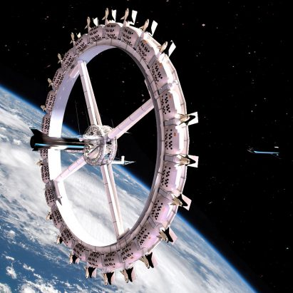 Voyager Station space hotel