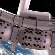 "Voyager Station space hotel will spin ""slightly faster than the second hand of a clock"" says its architect"