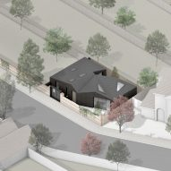 An perspective drawing of Jupp House by Phillips Tracey Architects