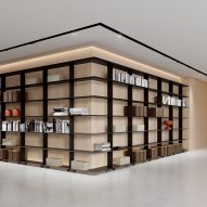 Wing shelving by Mario Ruiz for Systemtronic