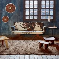 Woolable Enkang rug by Lorena Canals in a living room