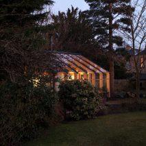 WT Architecture writer's studio glasshouse Edinburgh