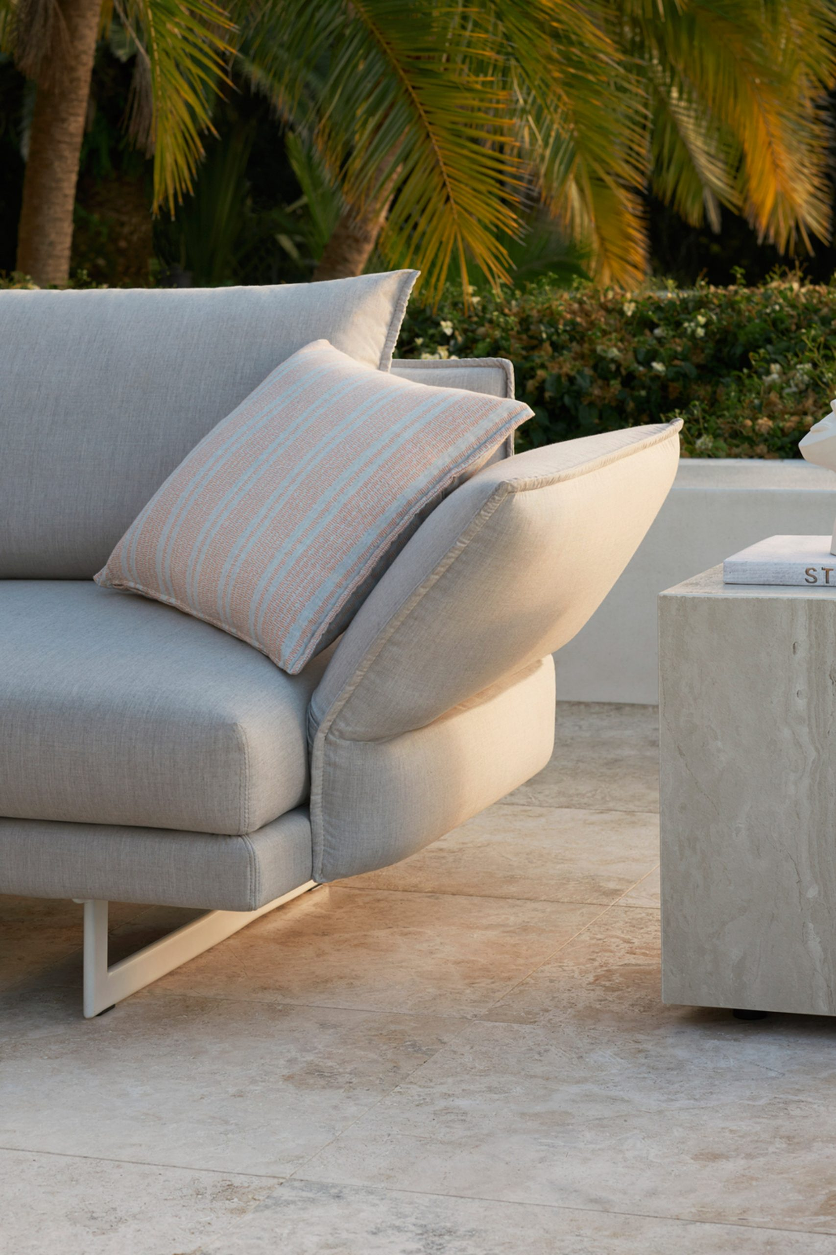 Zaza outdoor sofa by Charles Wilson for King Living