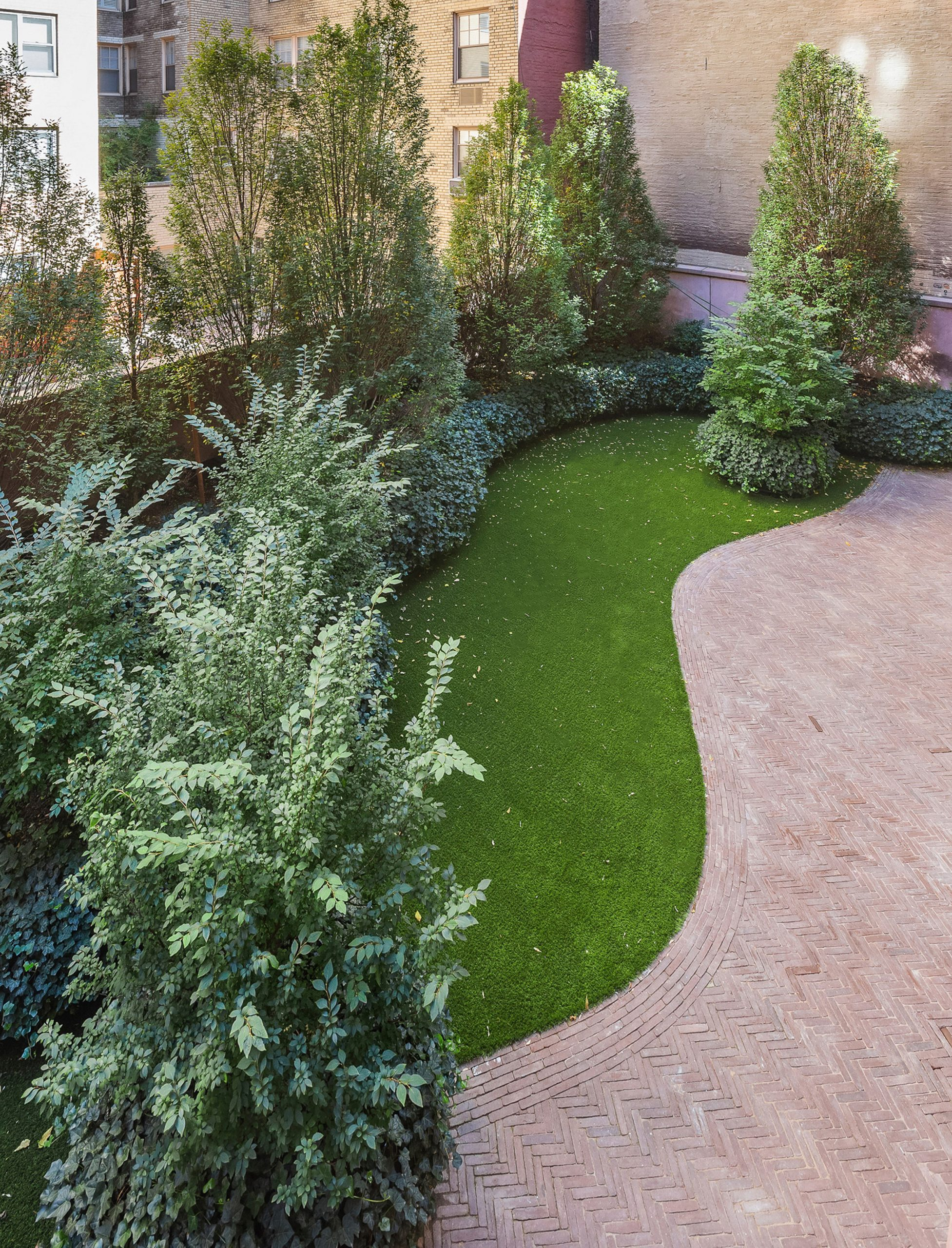 Peter Wirtz did the landscape gardening for the apartments