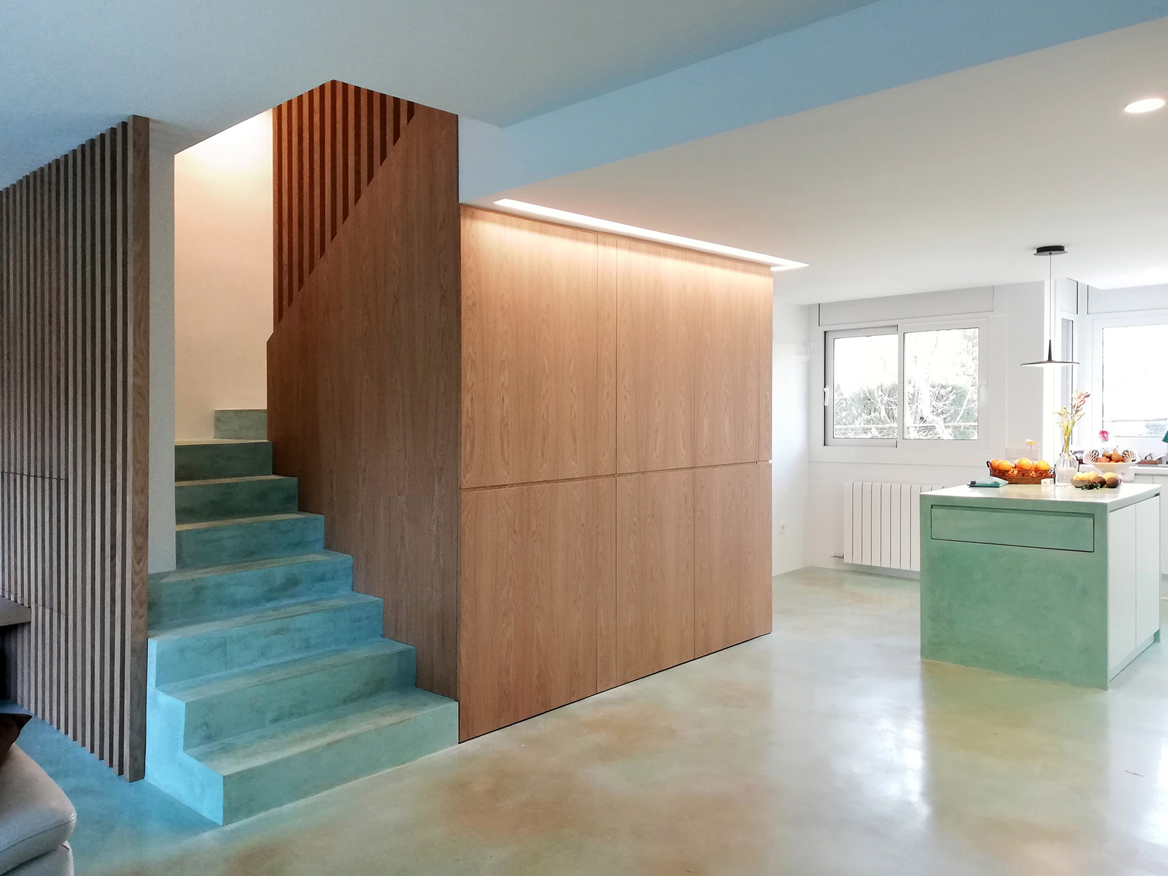 Acid Stain flooring by Ideal Work