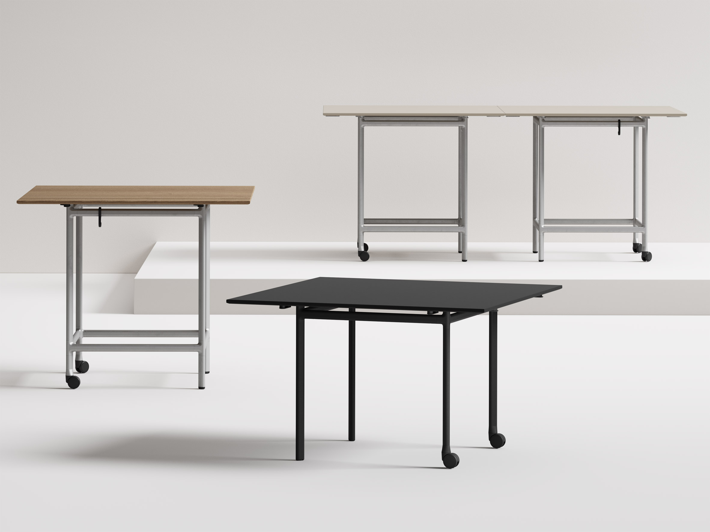 Epix desks by Form Us With Love for Keilhauer
