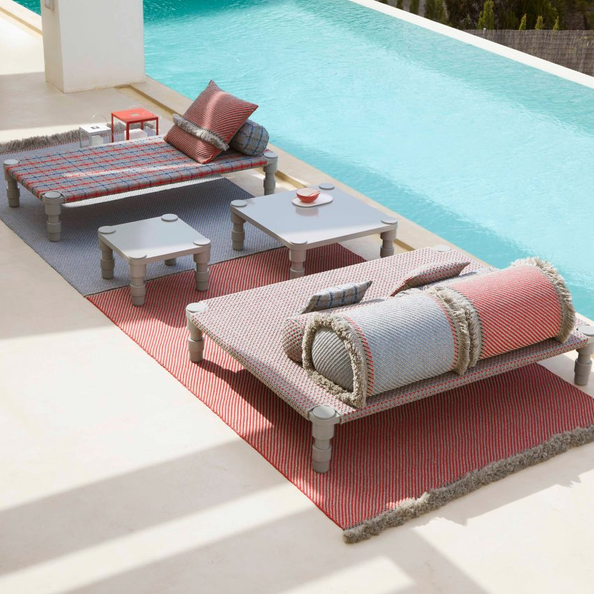 Garden Layers outdoor furnishings by Patricia Urquiola for Gan