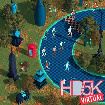 HD5K charity run is virtual in 2021