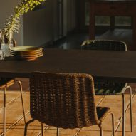 Lapala chair by Lievore Altherr Molina for Expormim at a dining table