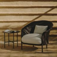 Liz armchair by Ludovica Serafini and Roberto Palomba for Expormim