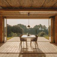Outdoor seating from Expormim features on Dezeen Showroom