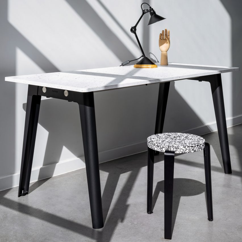 New Modern table system by Tiptoe