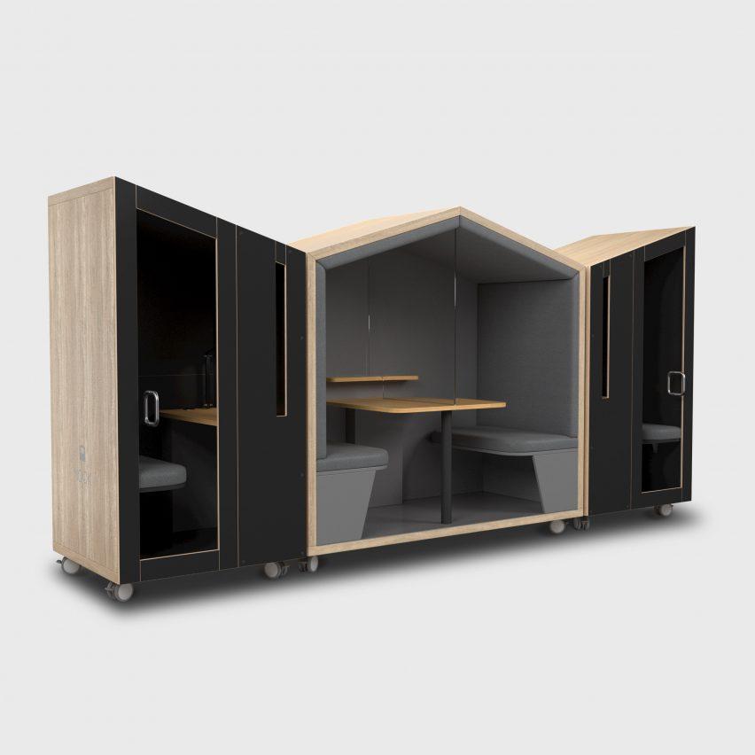 Nook Solo booth by David O'Coimin for Nook