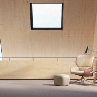 Nuez Lounge BIO by Patricia Urquiola for Andreu World