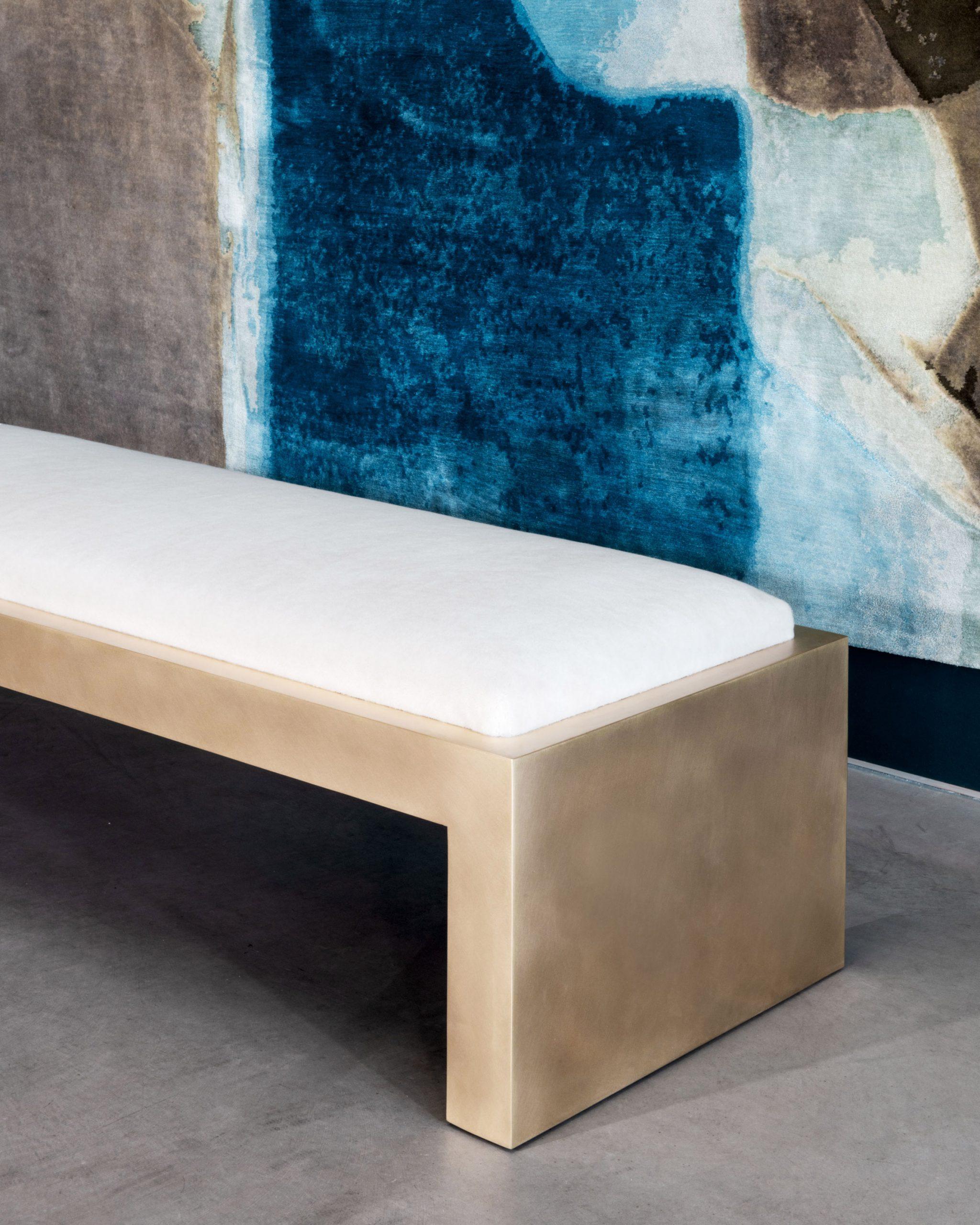 Offset Cube bench by Videre Licet via Twentieth gallery