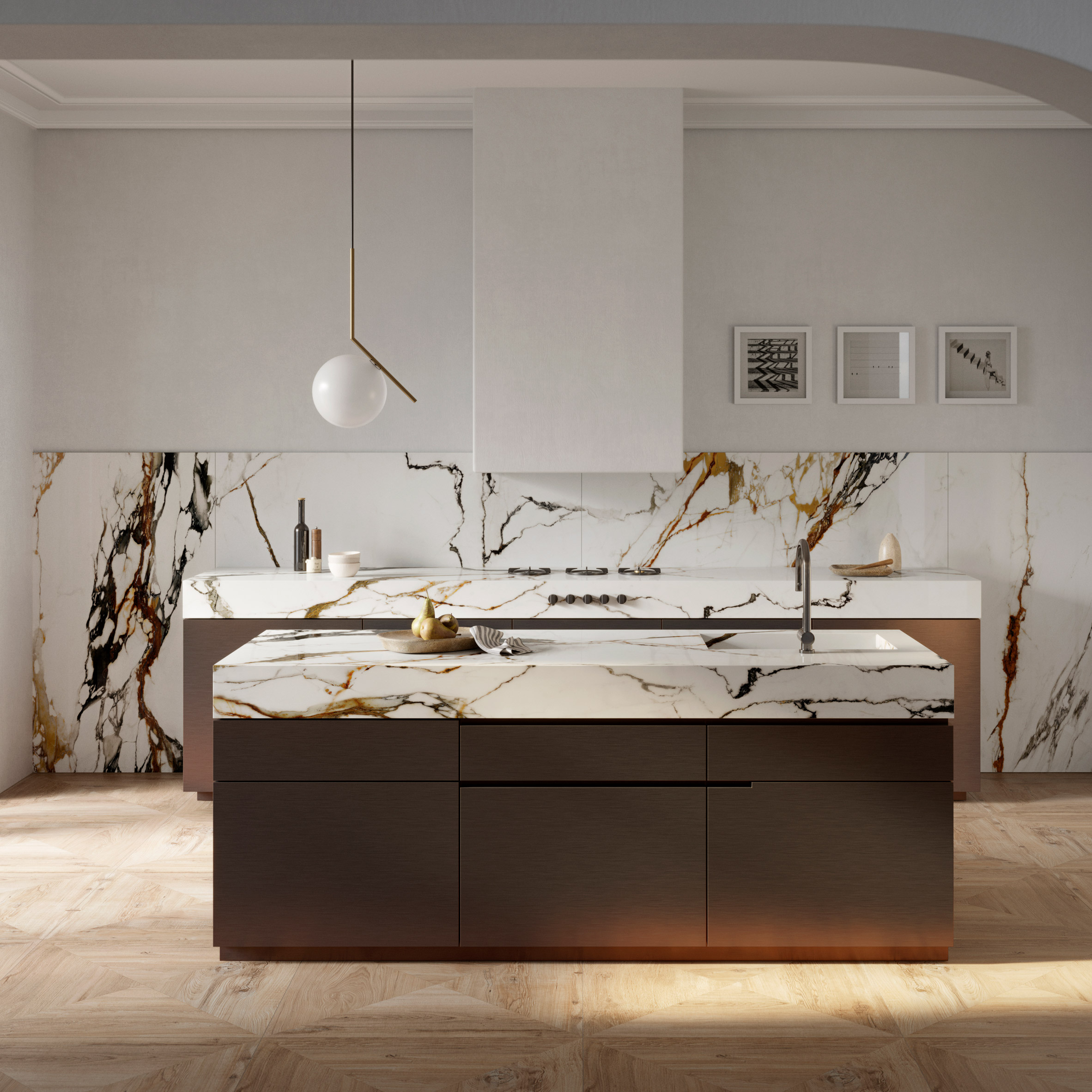 Paonazzo Biondo surfacing by Porcelanosa
