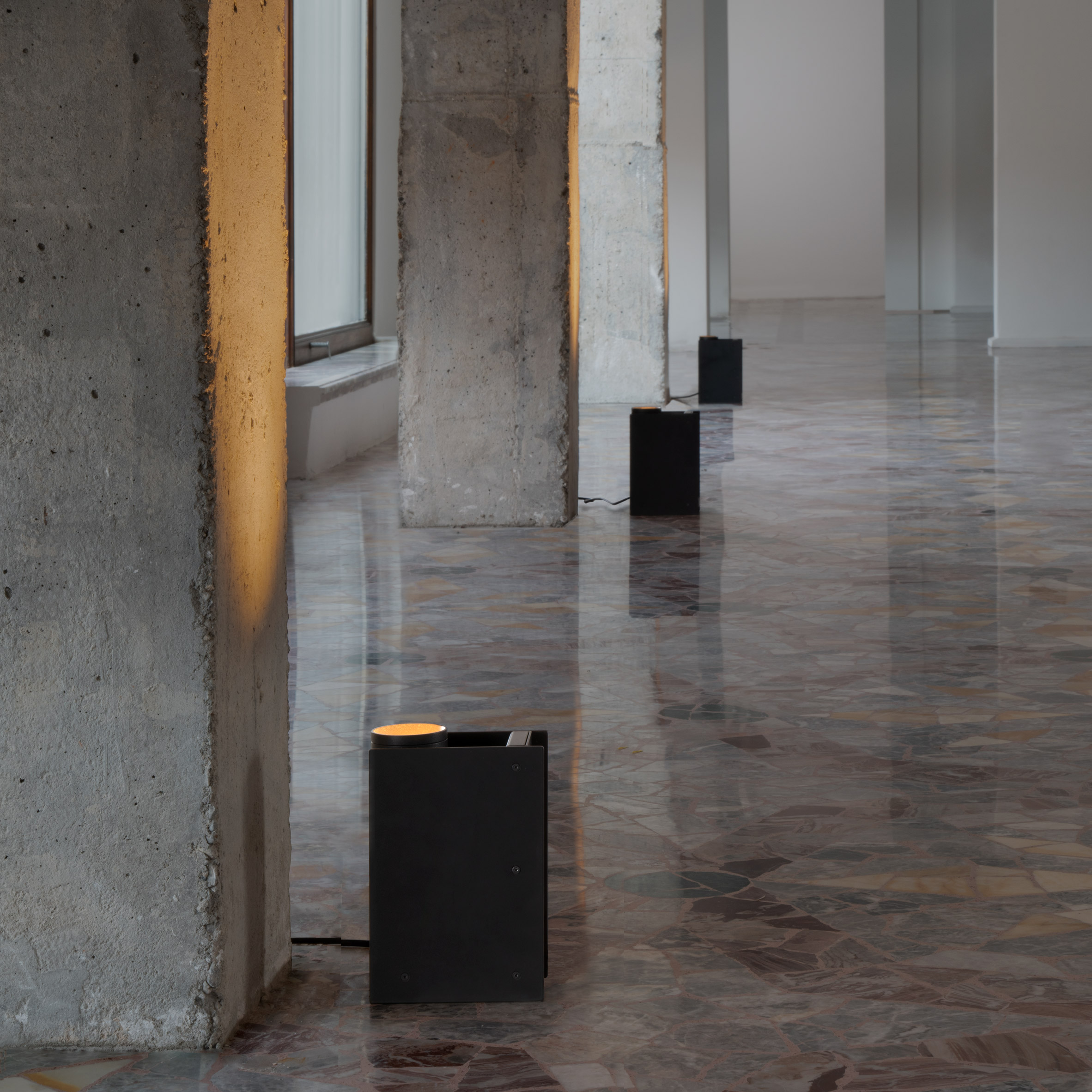 Plint light by Massimo Colagrande for Nemo Lighting