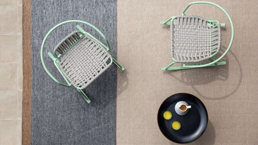 Ponza outdoor rug by Paolo Zani for Warli