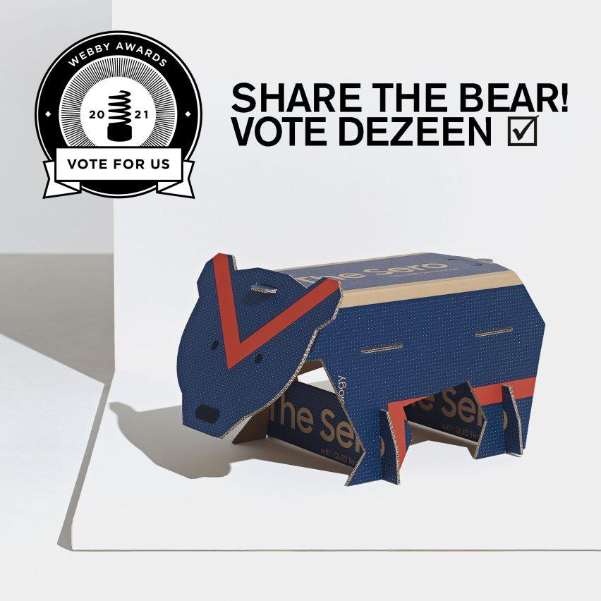 Share the bear!