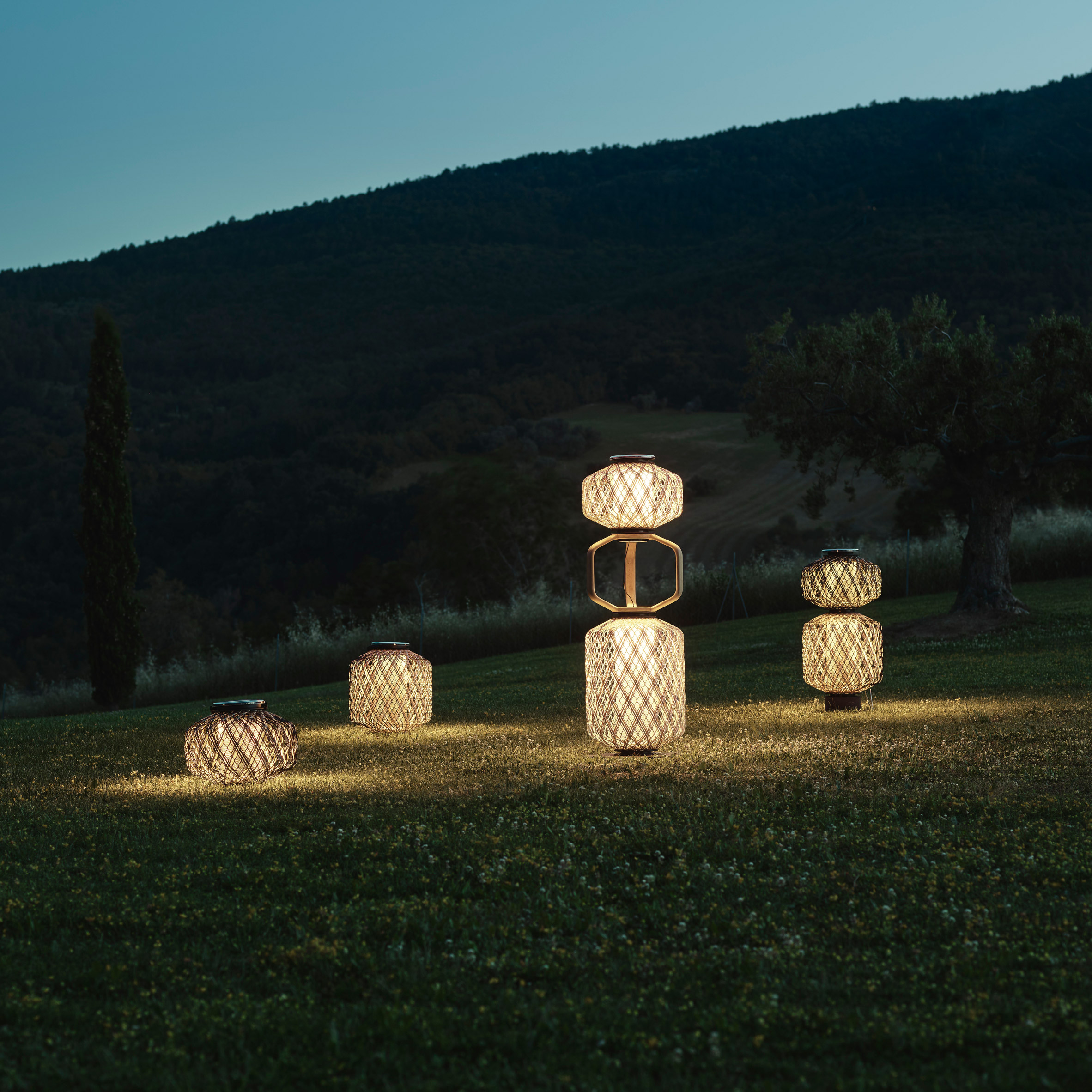 The Others lanterns by Stephen Burks for Dedon