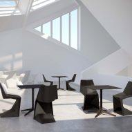 Voxel chairs by Karim Rashid for Vondom