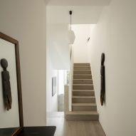Minimalist hallway interior
