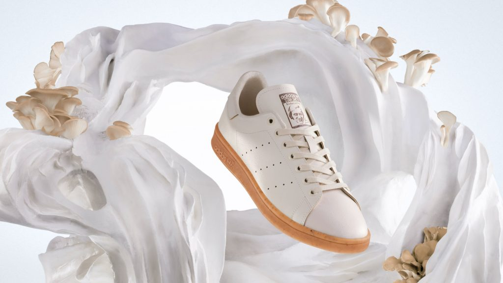 Adidas unveils Stan Smith Mylo trainers made from mycelium leather