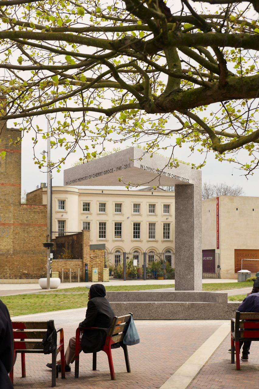 Cherry Groce Memorail Pavilion in Brixton