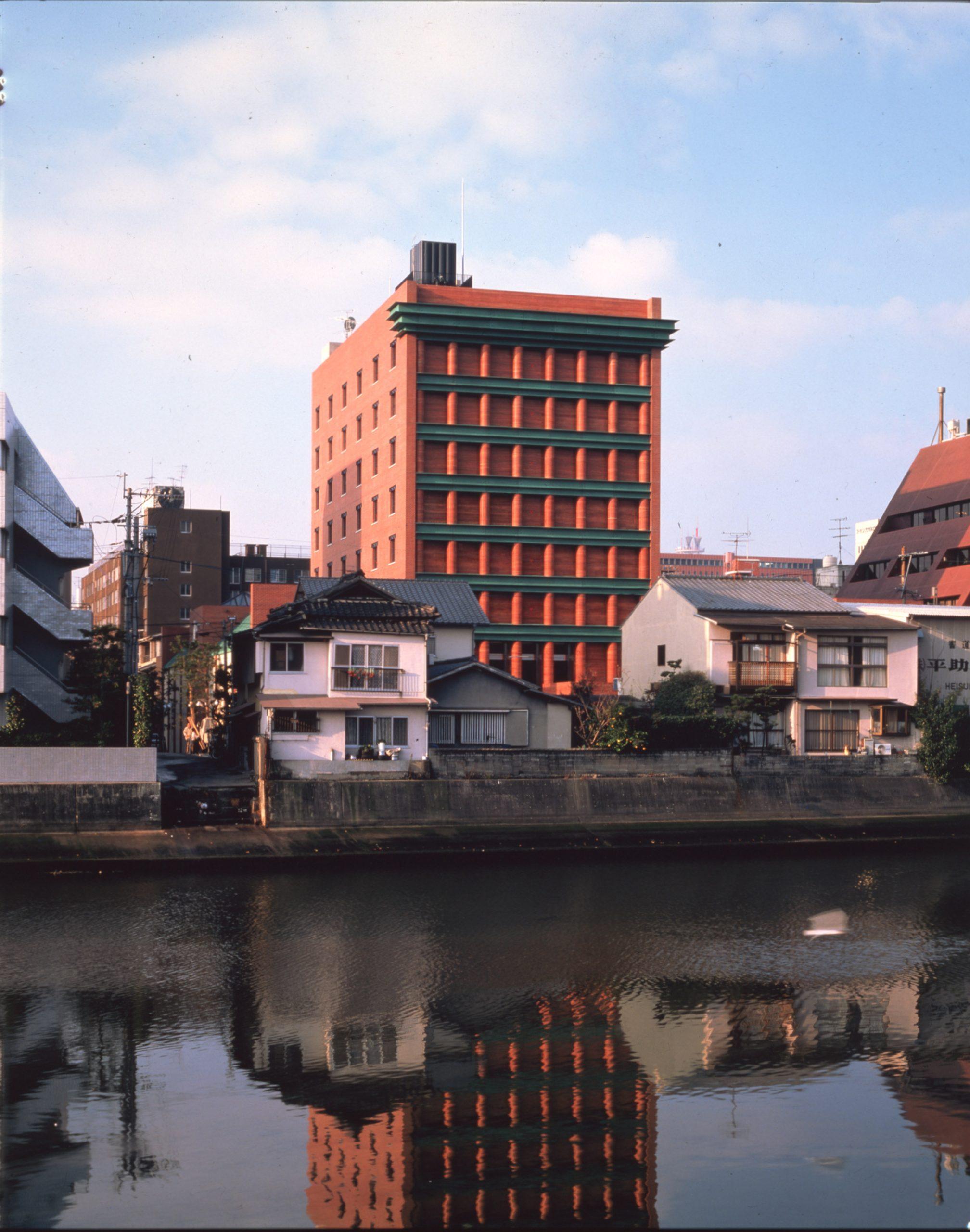 Hotel in Fukuoka, by Aldo Rossi