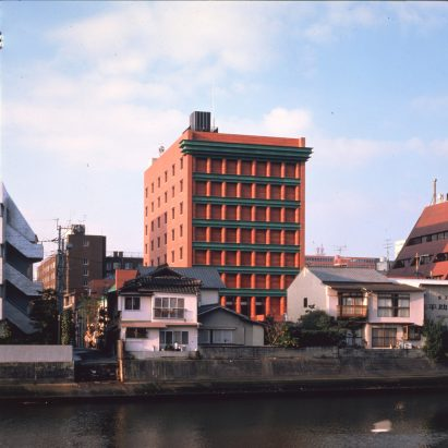 The Il Palazzo hotel by Aldo Rossi