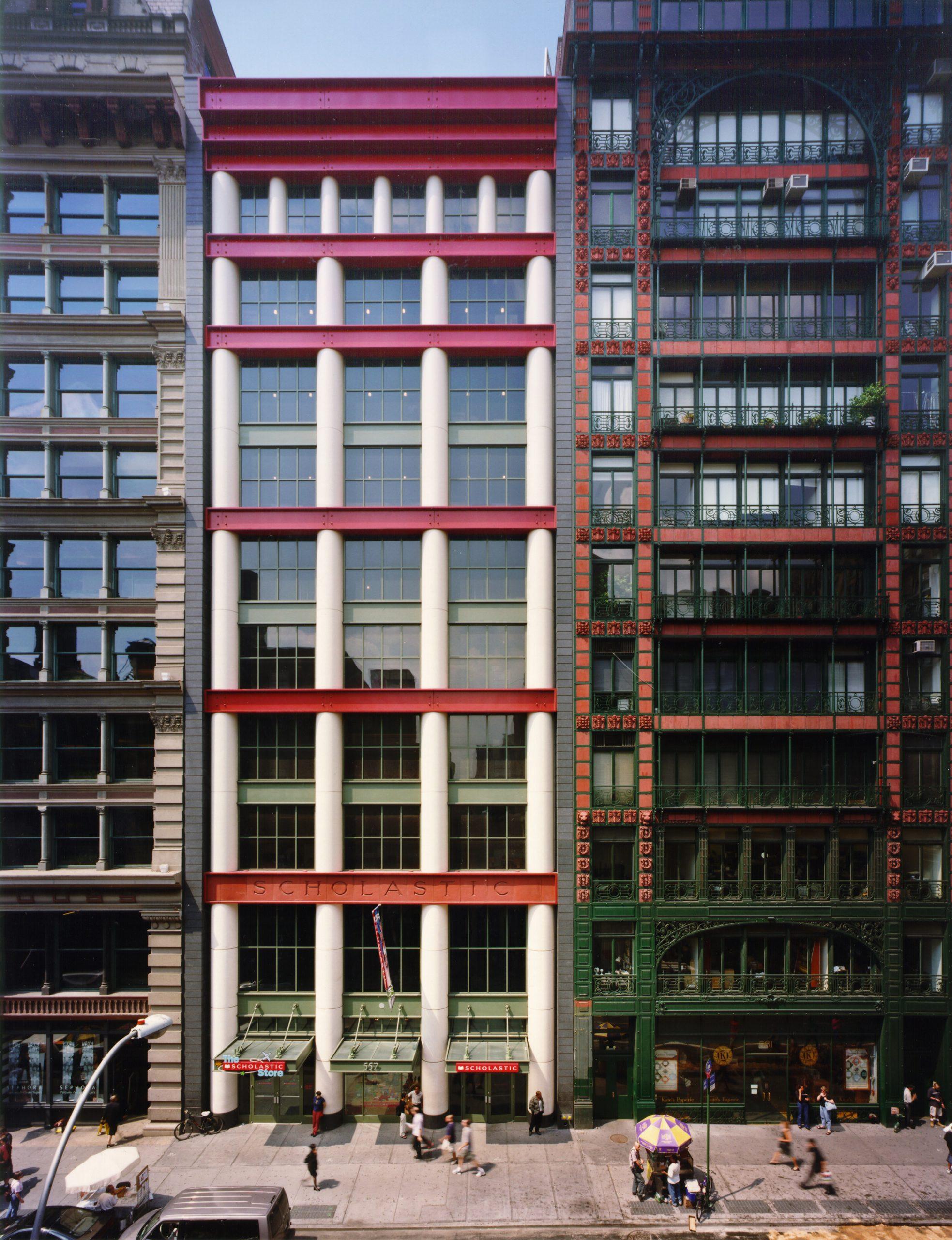 Aldo Rossi building on Broadway, New York