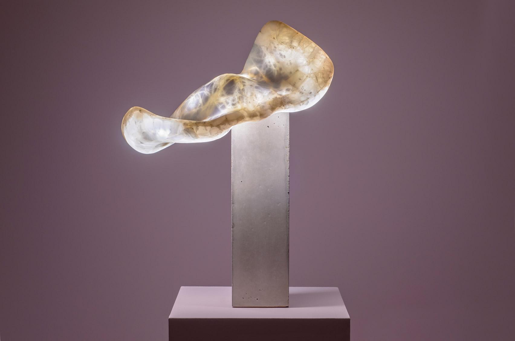 Aqua Fossil lamp by Amarist Studio