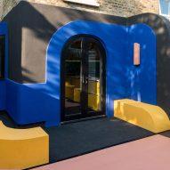 The colourful Amott Road house renovation