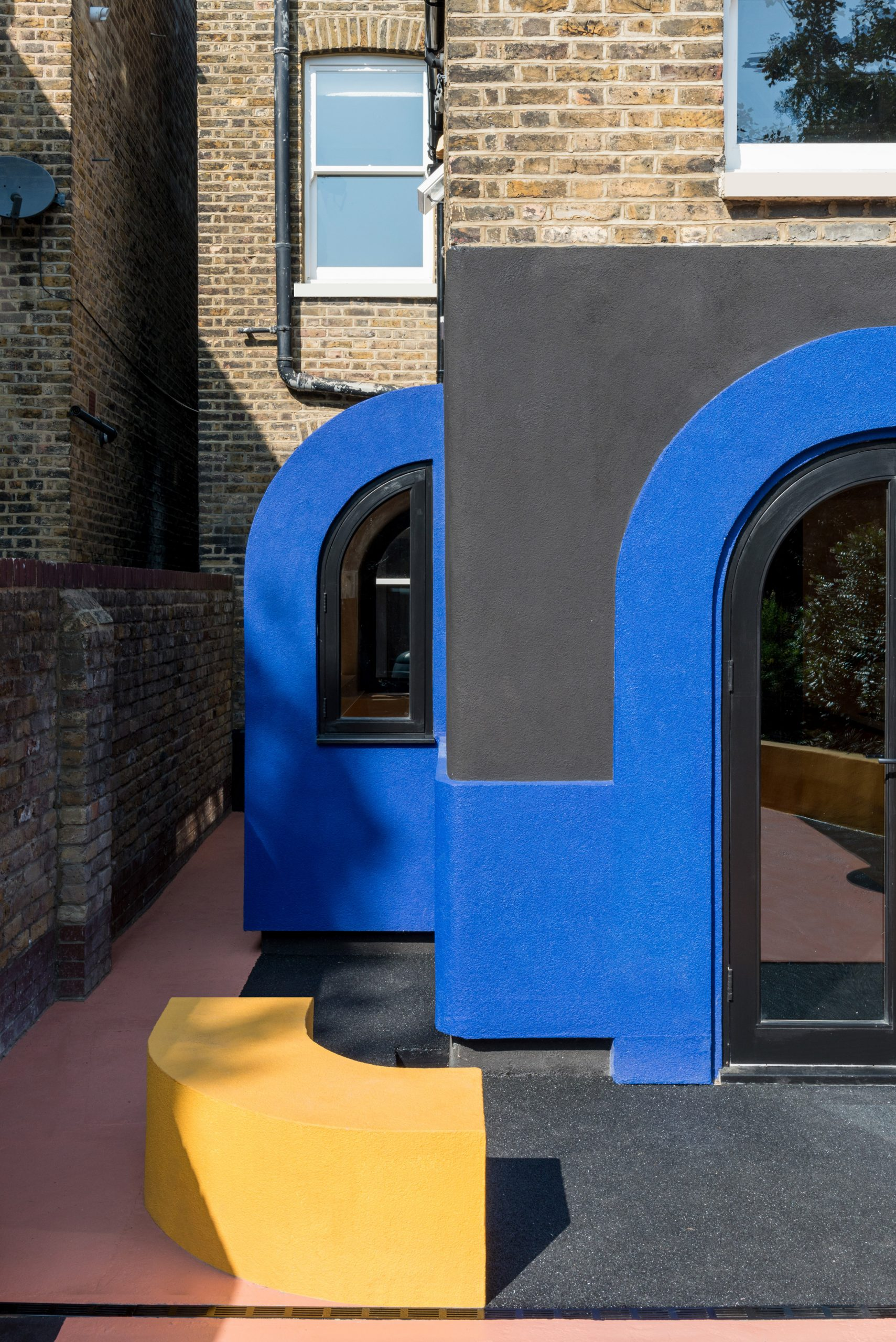 Amott Road house's colourful rear extension