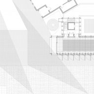 A floor plan for Auckland Tower by Niall McLaughlin Architects