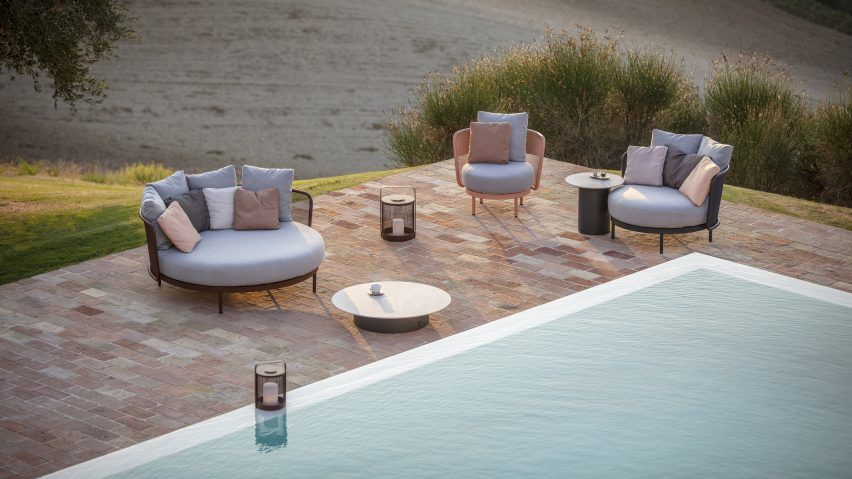 Studio Segers' Baza Lounge collection