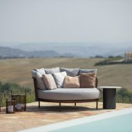 Baza Lounge outdoor seating by Studio Segers for Todus