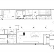 Floor-plan of S-M-L Loft