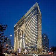 Bundang Doosan Tower by KPF in Seoul